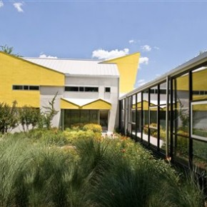 A Yellow Green Office in Atlanta