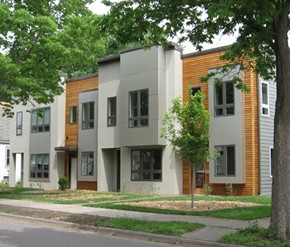 E2 City Homes: Green Building case study