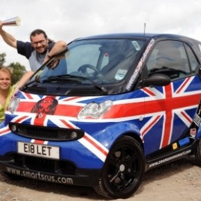 BRABUS smart fortwo Wins Cannonball Run