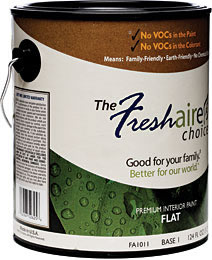 Freshy Fresh with Freshaire Choice Paints
