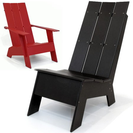 Loll Designs Has Come Up With A Solution For All Those Standing  Lollygaggers Out Thereu2026 A Line Of Modern Adirondack Chairs That Are 100%  Recycled And Very ...