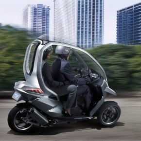 Three Wheeled Adventures with Peugeot and Piaggio