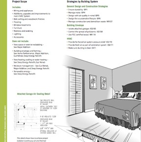 REGREEN: Rockin' Green Remodeling Guidelines